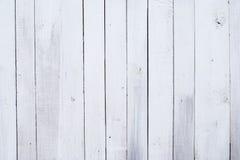 Biały drewniany tło, obsolote malował drewnianą teksturę Zdjęcie Royalty Free
