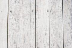 Biały drewniany tło z łaciastym Fotografia Royalty Free