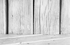 biały drewno Zdjęcia Stock