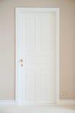Biały drzwi fotografia royalty free