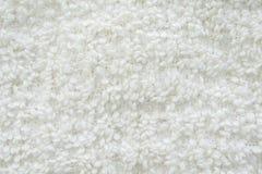 Biały dywanowy zbliżenie zdjęcia stock