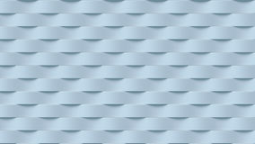 Biały falowego zespołu abstrakta powierzchni wzór świadczenia 3 d Zdjęcia Stock