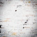 Biały grunge ściana z cegieł zdjęcie stock