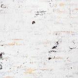 Biały grunge ściana z cegieł obrazy royalty free