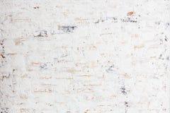 Biały grunge ściana z cegieł obrazy stock