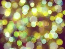 Biały i żółty jaskrawy jarzy się zamazujący światło abstrakta tło fotografia stock