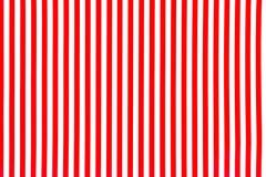 Biały i czerwieni paskował tło powierzchnię fotografia stock