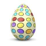 Biały jajko Obrazy Stock