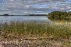 Biały Jeziorny prowincjonału park jest isloated parkiem lokalizować blisko Mobert i Białej rzeki zdjęcie stock