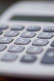 Biały Kalkulator zdjęcia stock