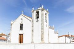 Biały kościół w Dolinie De Figueira Zdjęcie Royalty Free