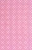 Biały kropek menchii tło Zdjęcie Stock