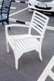 Biały krzesło Obrazy Stock