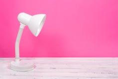 Biały lampa Obrazy Stock