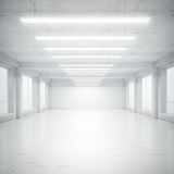 Biały loft obrazy royalty free