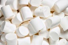 Biały Marshmallow tło Zdjęcia Stock