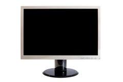 biały monitor TARGET574_1_ odizolowywać ścieżki Zdjęcia Stock