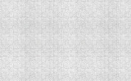 Biały mozaik płytek abstrakta tło Fotografia Royalty Free