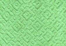 Biały naturalny bawełniany ręcznikowy tło Zdjęcia Stock