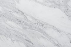 Biały naturalny marmuru kamienia tło Zdjęcia Stock
