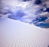 biały nowi Mexico piaski usa zdjęcie stock