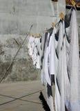 Biały obmycie w Burano wyspie, Wenecja obraz royalty free