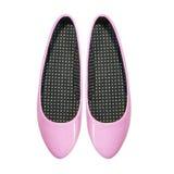 biały odosobneni tło buty obrazy stock