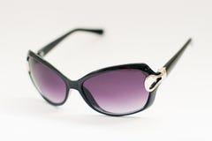 biały odosobneni tło okulary przeciwsłoneczne Obraz Royalty Free