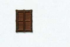 biały okno zdjęcie stock
