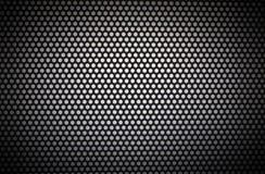 Biały okrąg z biel dziurami i ciemnym vignetting zdjęcie stock
