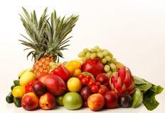biały owoc warzywa Obrazy Royalty Free