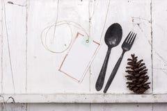 Biały półka rocznika styl Fotografia Royalty Free