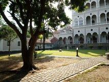 Biały pałac Fotografia Royalty Free