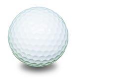 Biały piłka golfowa fotografia royalty free