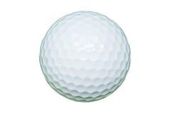 Biały piłka golfowa obrazy stock