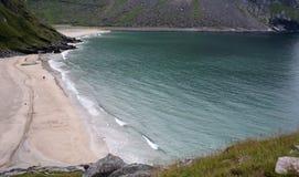 biały piasek na plaży obrazy stock