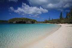 biały piasek na plaży Fotografia Royalty Free