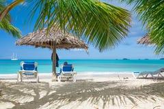 biały piasek na plaży Obraz Stock