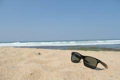 biały piasek na plaży Zdjęcia Royalty Free