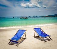 biały piasek na plaży Wietnam zdjęcia stock
