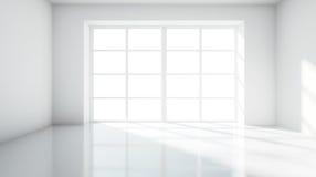 Biały pokój ilustracji
