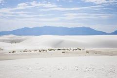 biały pomnikowi krajowi piaski zdjęcia royalty free