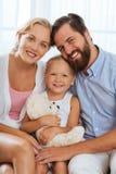 biały rodziny Zdjęcia Stock