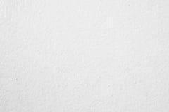 Biały rought ściany tło lub tekstura Obraz Stock