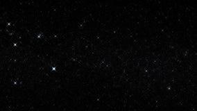 Biały Rozjarzony Gwiaździsty nieba Starfield ruchu grafiki tło zdjęcie wideo