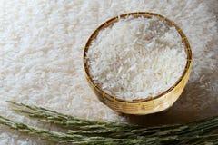 Biały ryż Obrazy Stock