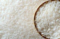 Biały ryż Zdjęcia Royalty Free