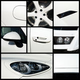 Biały samochód Zdjęcie Royalty Free