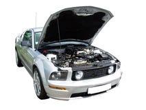 biały samochód Obraz Stock