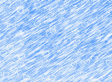 Biały serca tło na błękitni wiatrowi tła. Miłości tekstura Zdjęcia Royalty Free